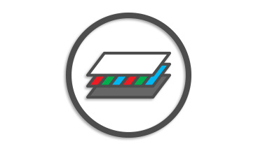 On-cell OLED Feature Icon