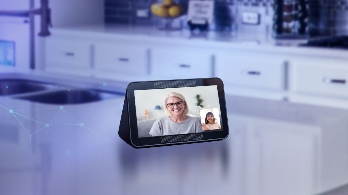 Smart Display Video Chat Home Hub